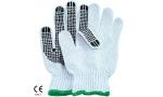 Mănuși tricotate din bbc, cu picouri SARA PIC