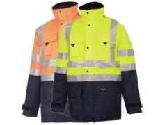Jachetă Barcelona 610010FYN (Galben/Bleumarin)