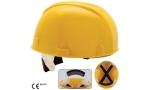 Cască protecție fără cozoroc, calotă textilă, 4p, sistem fixare automat, S9100