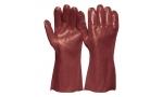 Mănuși de protecție VINYL RED