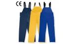 Pantalon impermeabil PU cu pieptar,  ROSTOCK (-B, -G, -AE)