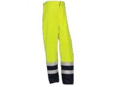 Pantaloni cu căptușeală fixă Voltage P 350022 (Galben/Bleumarin)