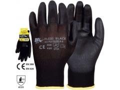 Mănuși de protecție FLEXI BLACK