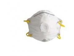 Semimască FFP1 cu supapă pentru aerosoli solizi si lichizi, 122/6110P1V