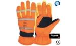 Mănuși cu benzi reflectorizante, căptușeală Thinsulate