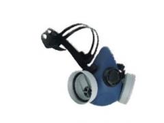 Semimască cu 2 filtre New Euromask, conectare prin infiletare, New Eurmask 7400