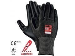 Mănuși tricot nitril CUT 5 NITRILE