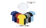 Tricou alb, la baza gatului 155g,100% BBC, marimi: S-XXL  ( 3XL - pret: 8.40 Ron)