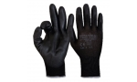 Mănuși de protecție SENSOR BLACK P