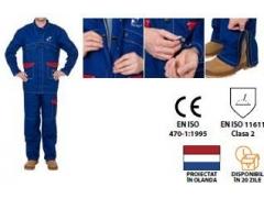 Jachetă, țesătură ignifugă pentru sudori,  33-2300-L