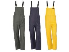 Pantaloni cu pieptar Cottaflex 650003G (Verde)