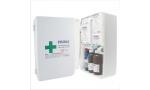 Trusa sanitara de prim ajutor - Nedetasabila, cu fixare pe perete, avizata MS